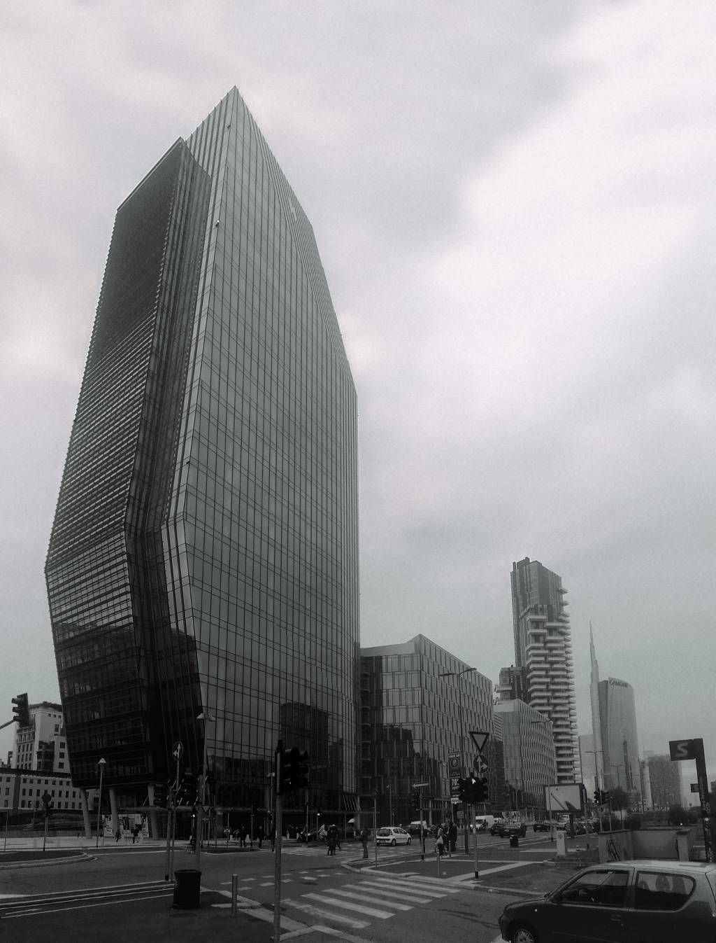 Torre Diamante, Diamantone, Diamond Tower a Milano